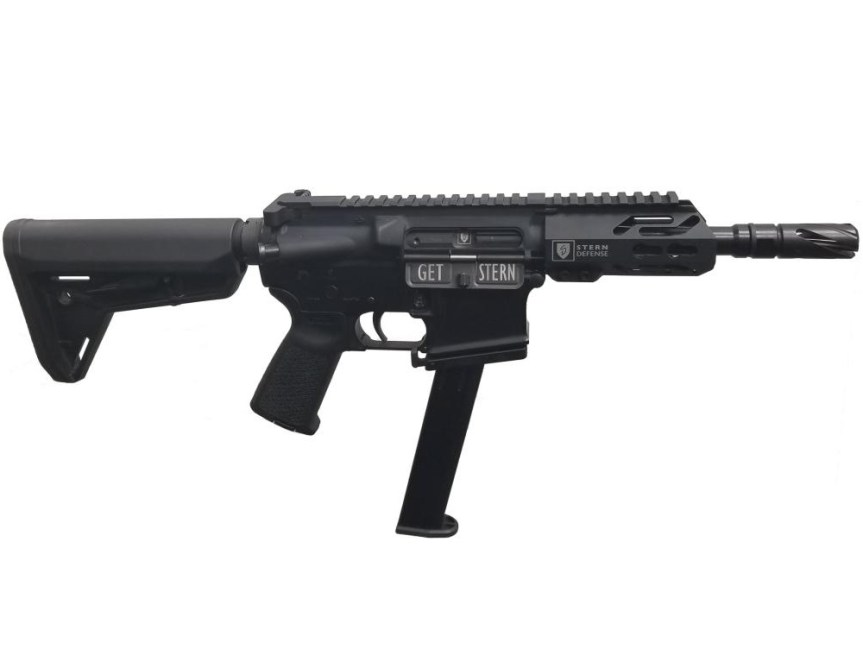 stern deffense magazine adapter ar15 pistol conversion 45acp arpistl ar45 adapter glock mags 1