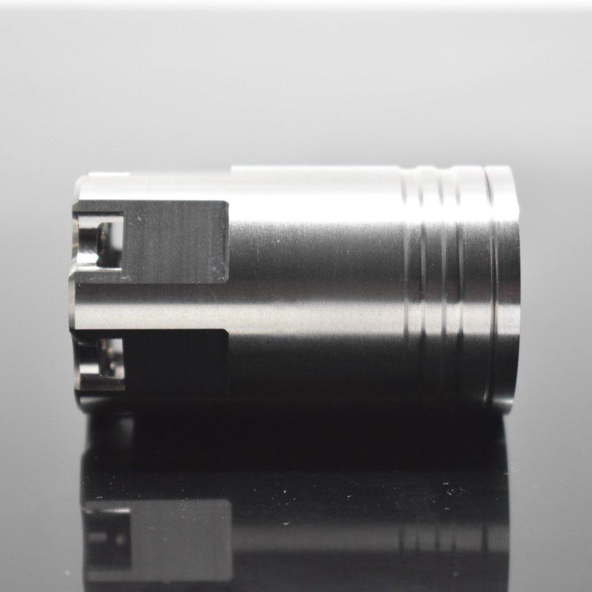 venom defense linear compensator titanium compensator titanium muzzle brake 9mm muzzle device ar15 titanium ar10 titanium black rifle ak47  3.jpg