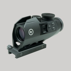 crimson trace cts-1100 electronic sight illuminated battle sight 3.5x optics; tactical; 40sw; attackcopter.com;firearmblog;gunblog; battle rifle ar14 ak47 3