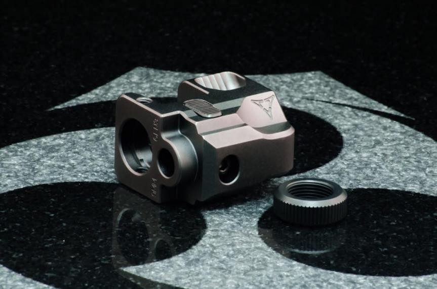 kiler innovations glock compensator 9mm muzzle brake for the glock attackcopter firearmblog gunblog firearm news ar15 tactical black rifle 6