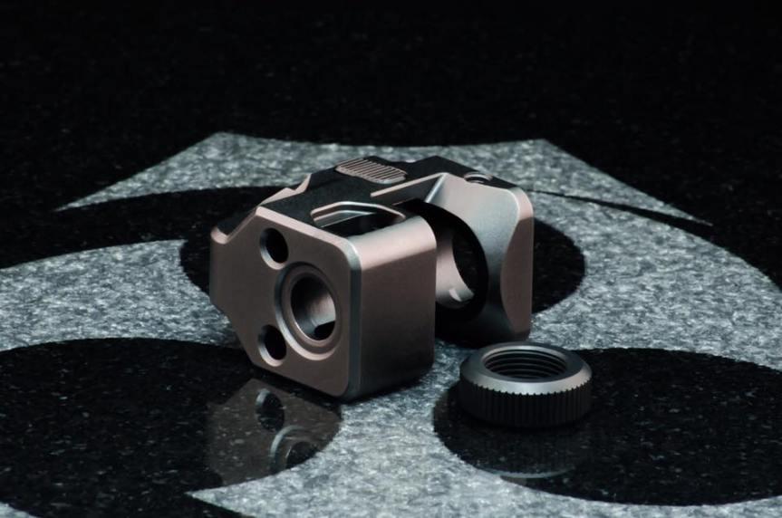 kiler innovations glock compensator 9mm muzzle brake for the glock attackcopter firearmblog gunblog firearm news ar15 tactical black rifle 7