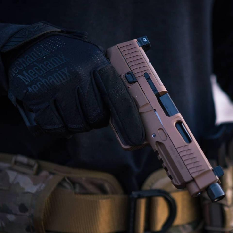nemo arms monark pistol; 9mm; tactical; attackcopter; gunblogs; firearm blogs; rmr cut for tactical pistol; suppressor 40sw. black rifle 12
