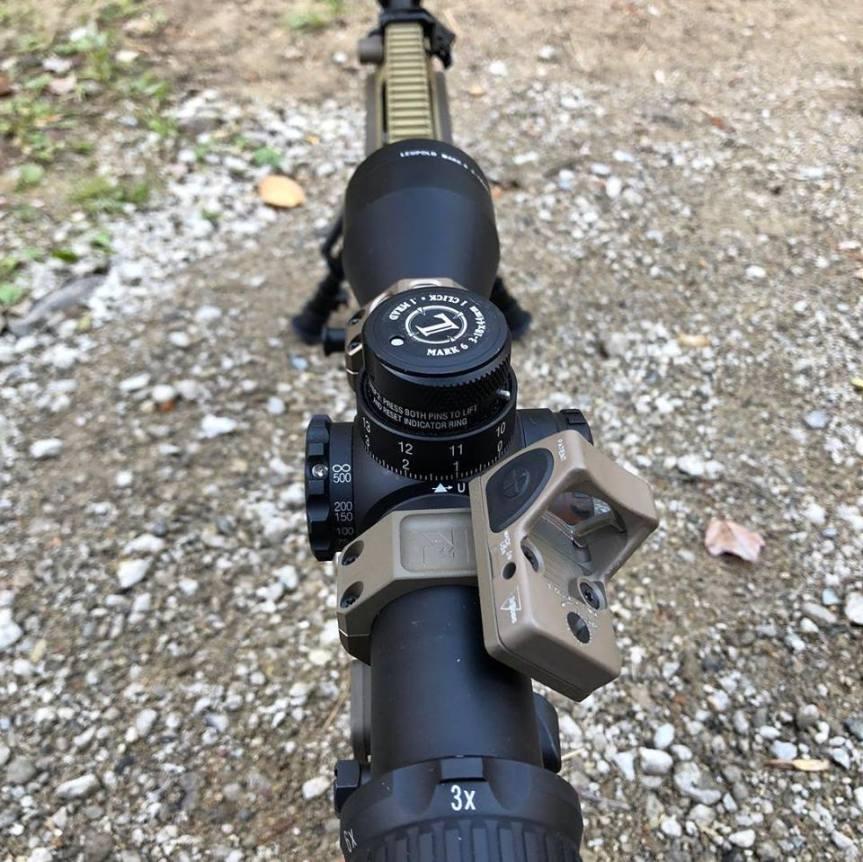 parker mountain machine ridge line defense 45 degree rmr mount for geissele super precision scope mount; attackcopter; gunblog; firearmblog; ak47; operator black rifle; 40sw 9mm 1