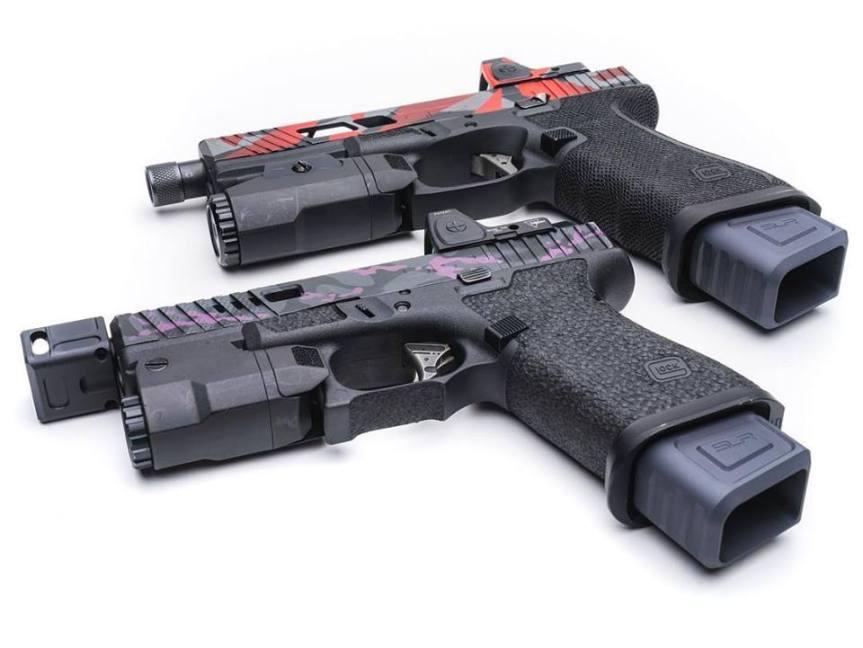 slr rifleworks zero glock magazine extensions for the glock19 mag extensions glock 17 a