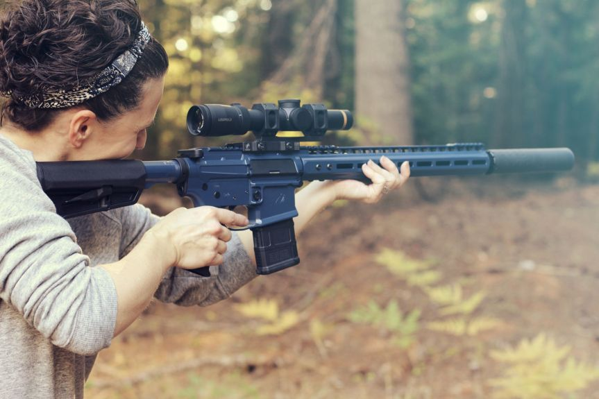 LV seven weapon systems women specific line of ar15 rifles for women pink ar-15  1.jpg