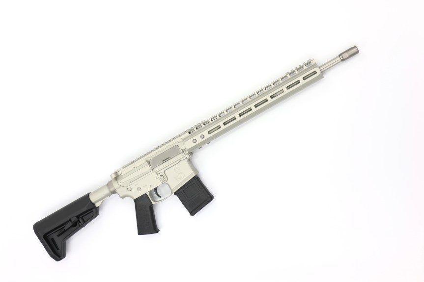 "16"" 5.56 Swan Rifle Frost"