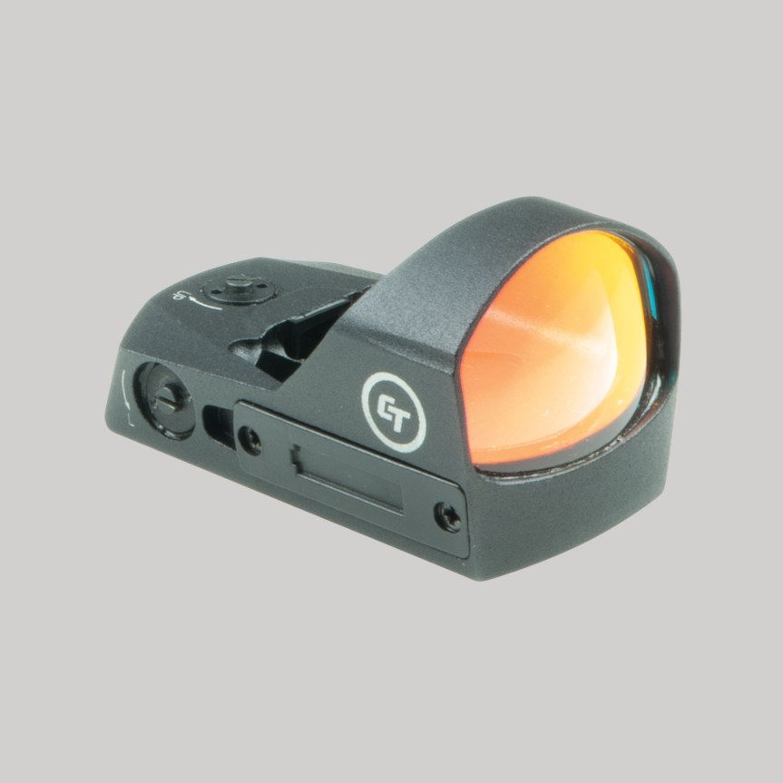 crimson trace cts-1200 pistol red dot small reflex sight 5