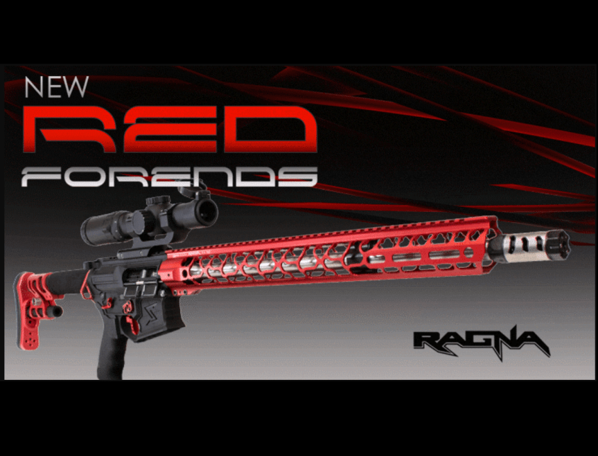 odin works red anodized ar15 handguards red ragna rail MLOK red 92 lite ar15 rails  aaaa.png