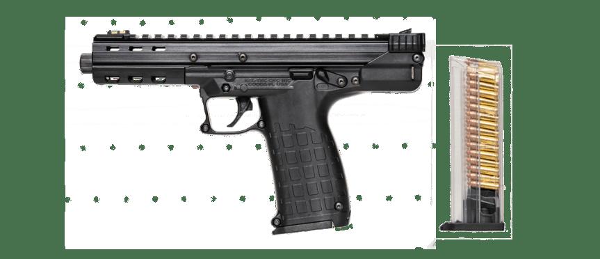 kel-tech weapons cp33 22lr quad stack magazine keltech cp-33 33 round 22lr magazine  2.png