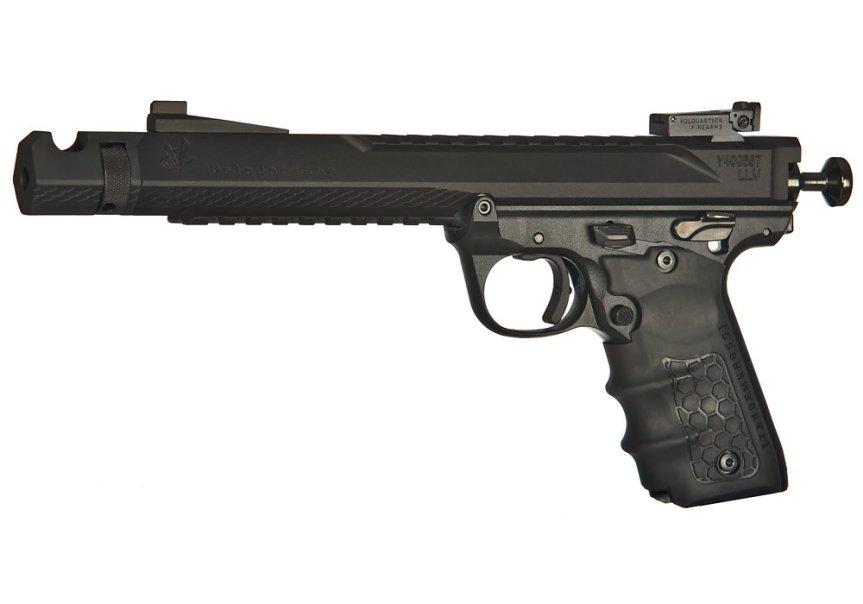 volquartsen firearms black mamba target pistol mkiv 22 45 tactical targit pistol custom build 1