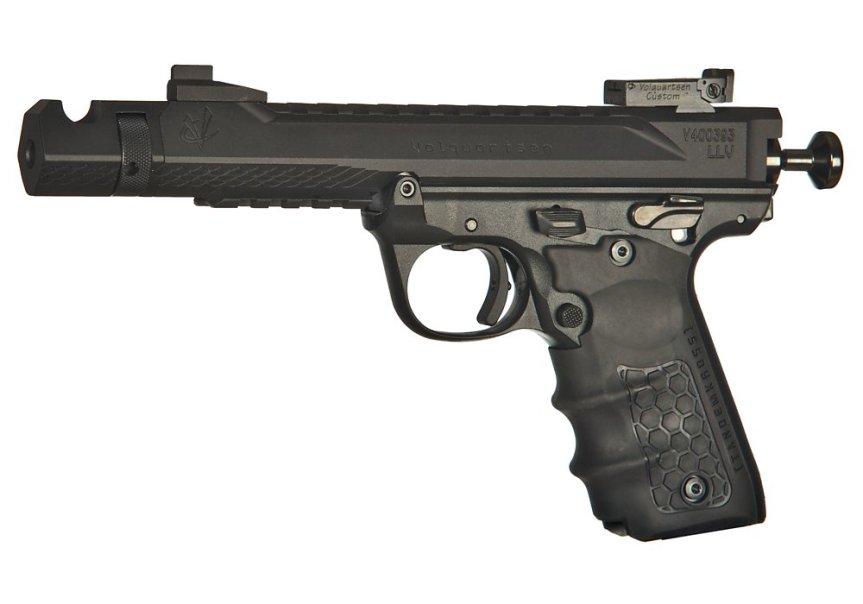 volquartsen firearms black mamba target pistol mkiv 22 45 tactical targit pistol custom build 7