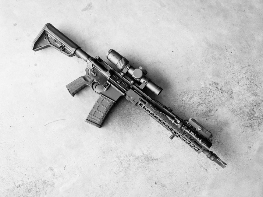 arisaka defense use surefire tailcap and switch with streamlight protact ar15 tactical protac light dbal lazer  2.jpg