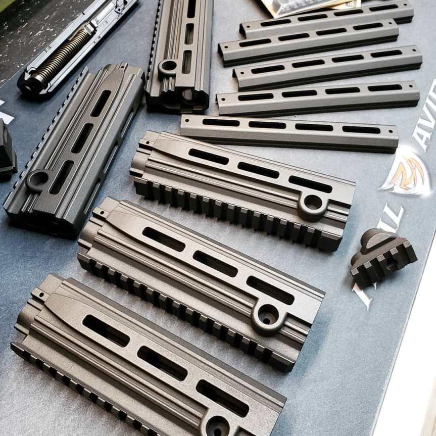 dan haga designs cmr-30 extended handguard for the cmr30 longer rail sbr cmr keltec  2.jpg