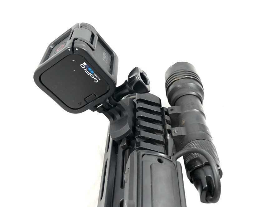 kinetic development grou Kinetic M-LOK QD Go Pro mount for mlok rifle camera  1.jpg