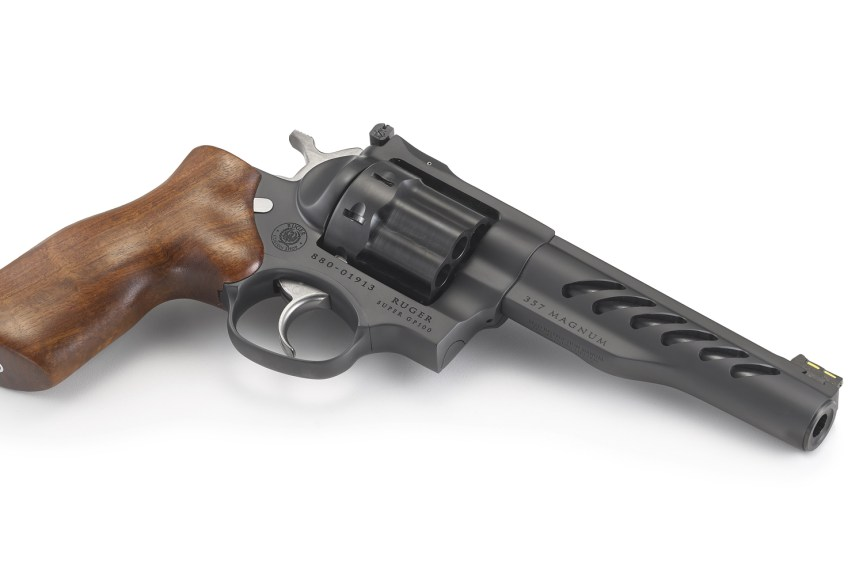 ruger custom shop ruger super gp100 competition revolver race gun revolver model 5065 pvd stainless barrel  3.jpg
