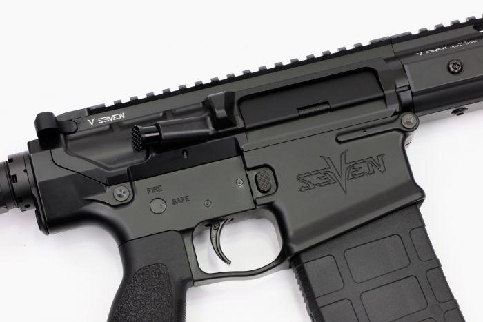 v seven weapon systems 308 harbinger rifle ar10 .308 7.62x51 sniper 3