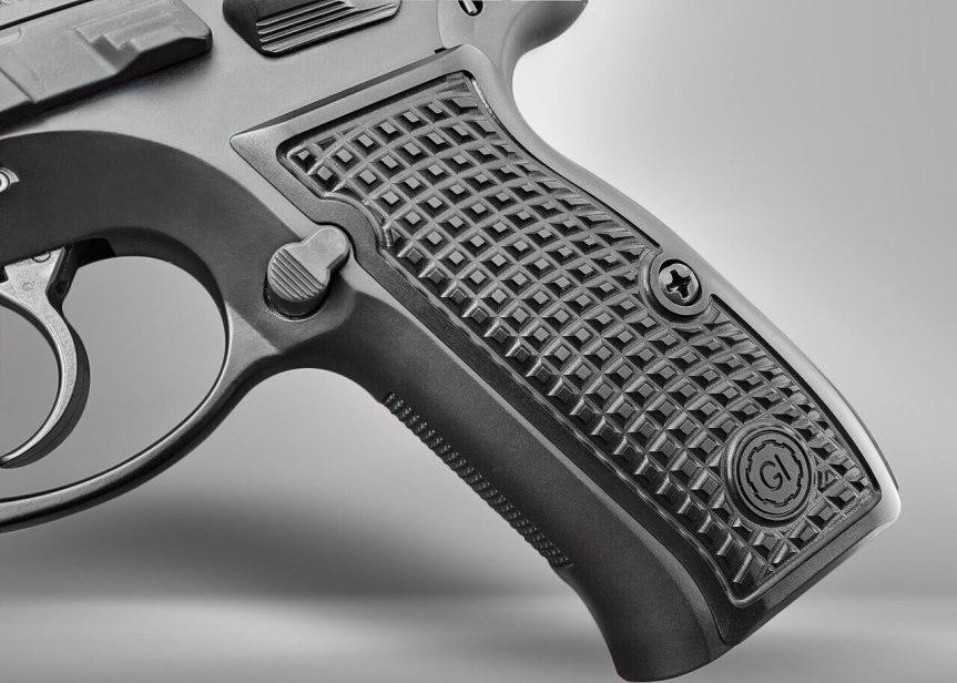 guncrafter industries cz-75 frag grips billet aluminum grips 2