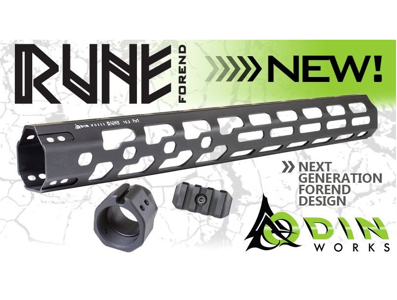 odin works rune forends ar15 rails super light build for my ar15 mlok rail ar-15 forends 1