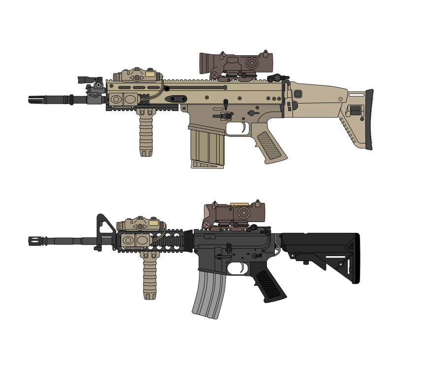 tiny crumb edc morale patch for your range bag M4A1 Phased Replacement  MK 17 MOD 0 CQC PATCH 1a.png