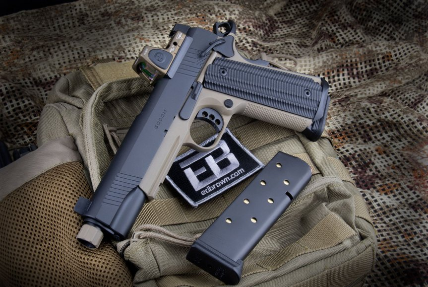 ed brown special forces inspired socom edition 1911 pistol suppresor height sights 1911 with rmr threaded barrel 45acp 1.jpg