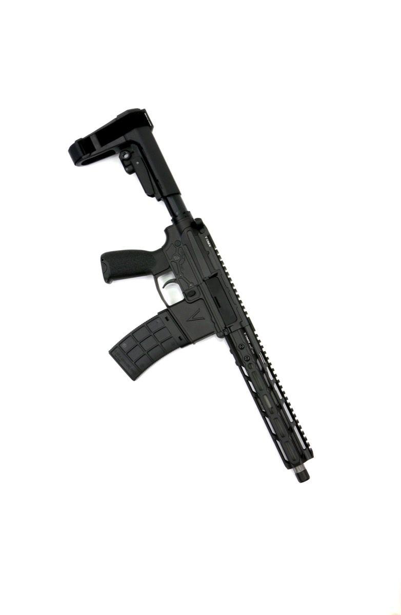 v seven weapon systems 10.25 lr enlightended 300 blackout pistol ar15 chambered in 300 blackout for hunting 2
