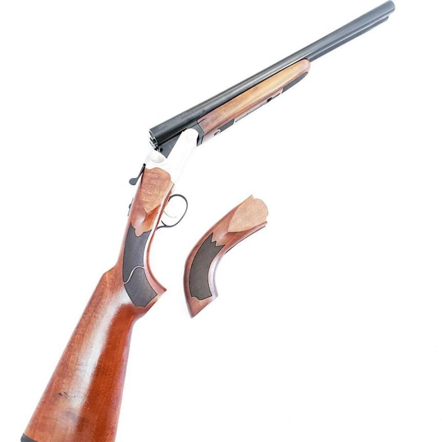 black aces tactical side by side shotgun gold trigger 3