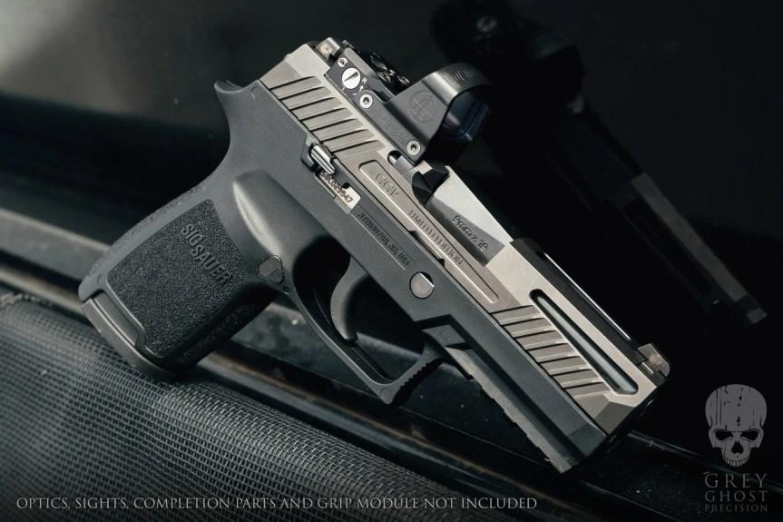 Grey Ghost Precision Stripped Polymer Pistol Frame Black