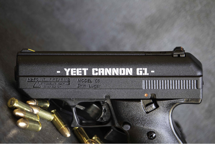 hi-point firearms c9 yeet cannon g1 pistol 9mm problem solva i keep it real bitch  1.jpg