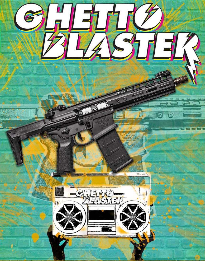 noveske rifleworks Gen4 N4-PDW Rifle ghetto blaster honey badger rifle 1.jpg