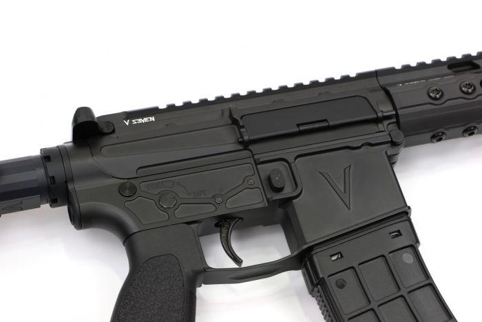 v seven weapon system 8.5 lr enlightened ar pistol 5.56 pistol a