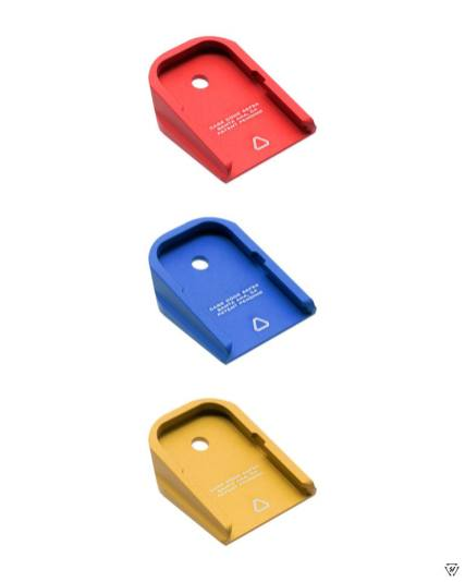strike industries glock plus 0 base pads for glock aluminum magazine base pads