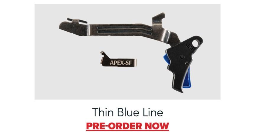 apex tactical glock 43 43x 48 flat trigger action enhancement kits for slim line glocks custom trigger 4