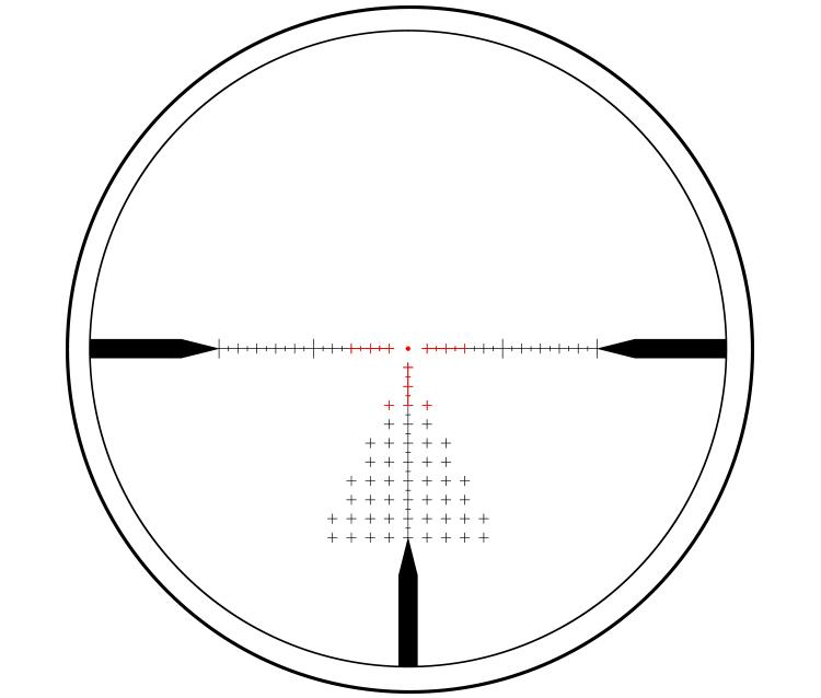 atibal optics atibal xs 1-10x30 SFD rifle scope second focal plane 5