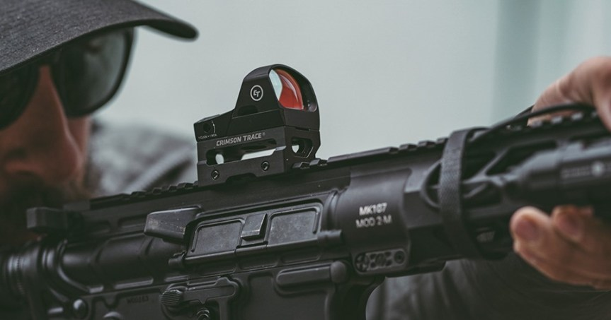 crimson trace cts-1400 reflex red dot sight 1 3 cowitness absolute cowitness mount picatinny red dot mount  1.jpg