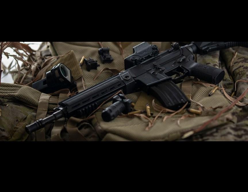 iwi arad modular battle rifle short stroke piston ar15 556 rifle polymer magazines modular desigh interchangeable ar parts  1.jpg