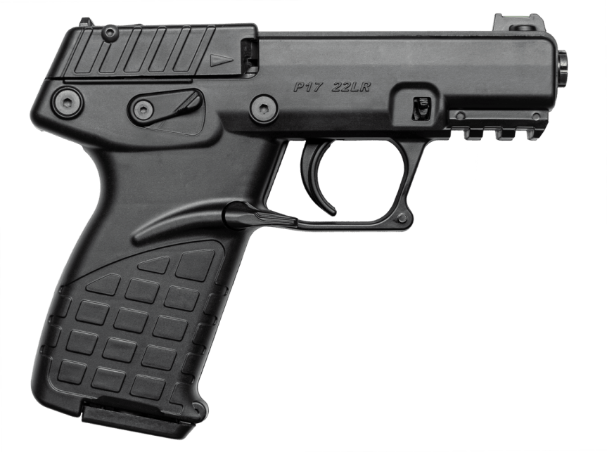 keltec p17 pistol 22lr double stack handgun concealed carry 22lr high capacity 17 round 22long rifle handgun 4.png