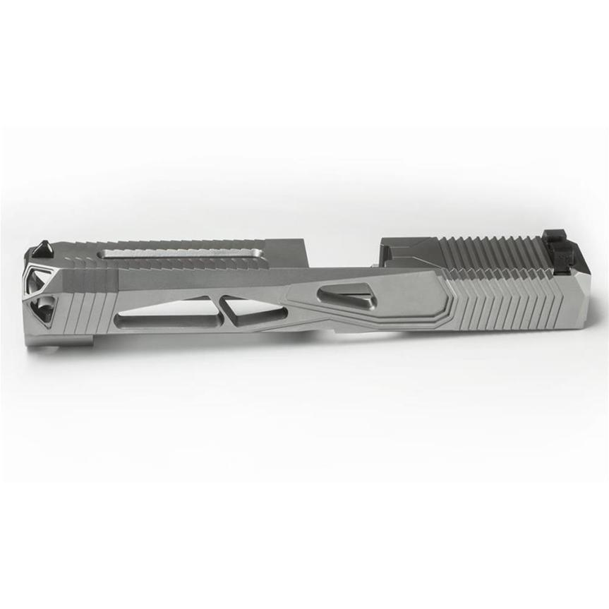 lone wolf distributors signature series 20 glock 26 custom slide serrations window cut glock 26 light slide custom work 1