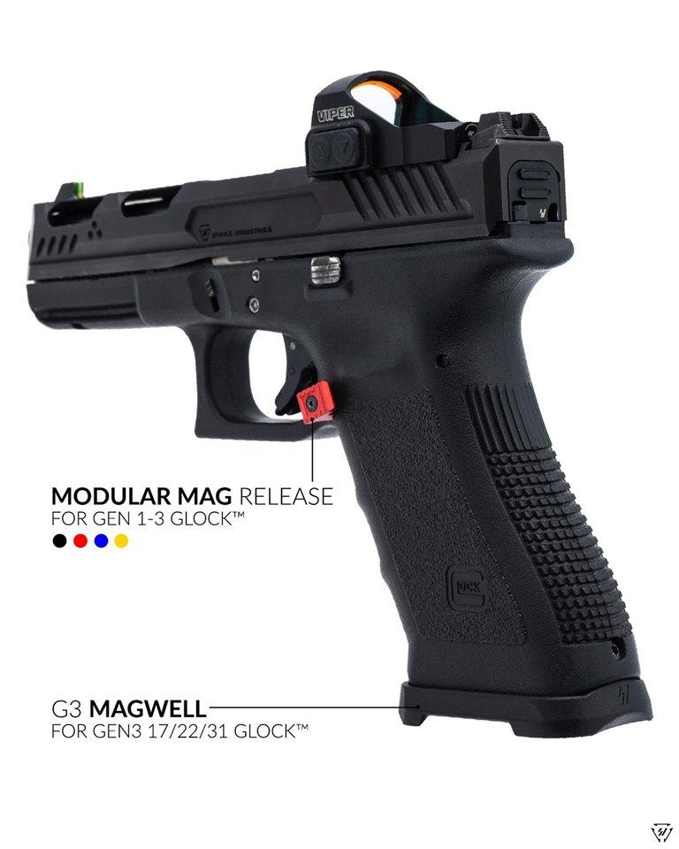 Strike Industries glock modular magazine releases interchangeable glock mag release buttons  1.jpg