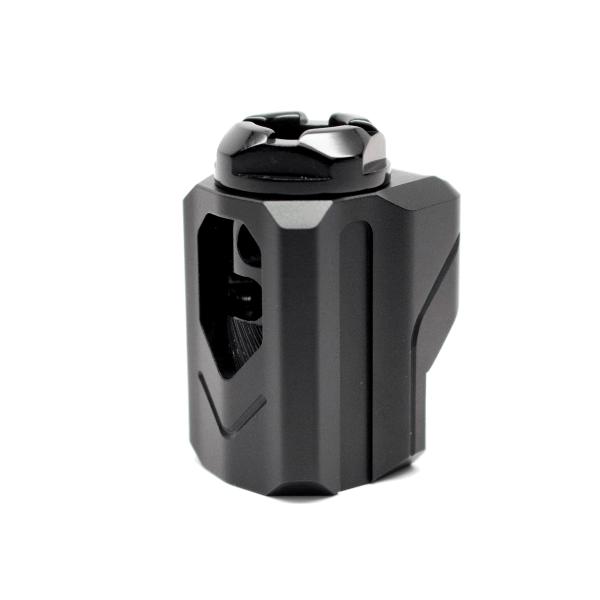 tyrant designs cnc uni-comp universal pistol compensator 9mm pistol comp 2