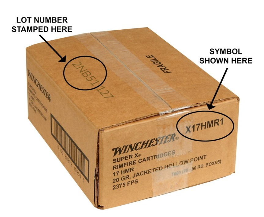winchester recall on ammo 17 hmr ammo recall 2