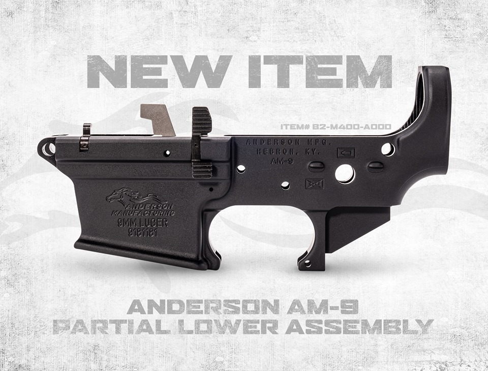 ANDERSON MANUFACTURING ROLLS OUT NEW AM-9 PARTIAL LOWER ASSEMBLY