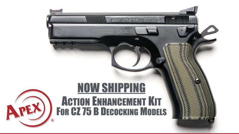 apex tactical action enhancement kits cz 75 b decocking models 116-143 aftermarket upgrades cz 75b 1