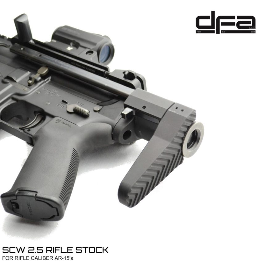 dead foot arms scw 2.5 scw 4 pdw stocks shortest ar15 stock  a.jpg