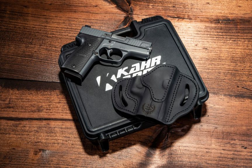 kahr arms 24th anniversary k9 pistol slim 9mm single stack conceal carry gun 3
