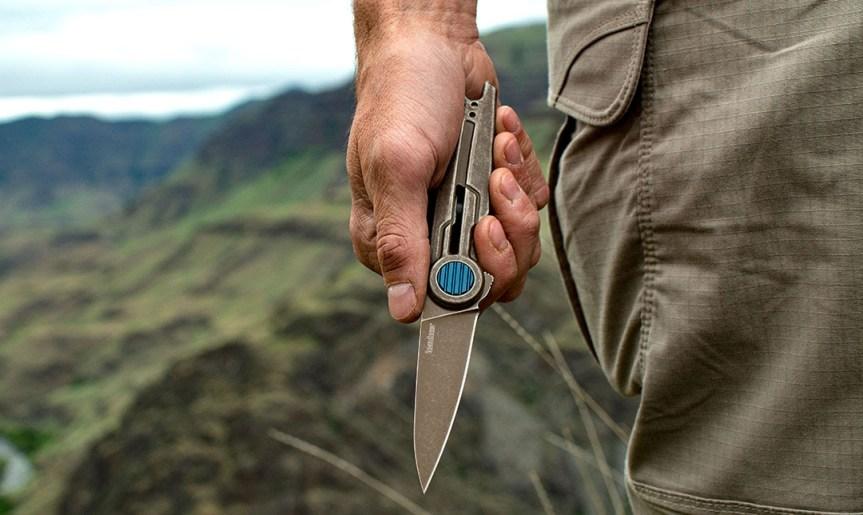 kershaw knives parsec model 2035 pocket knife folder 8cr13mov stonewashed blade everday carry edc knife blade  1.jpg