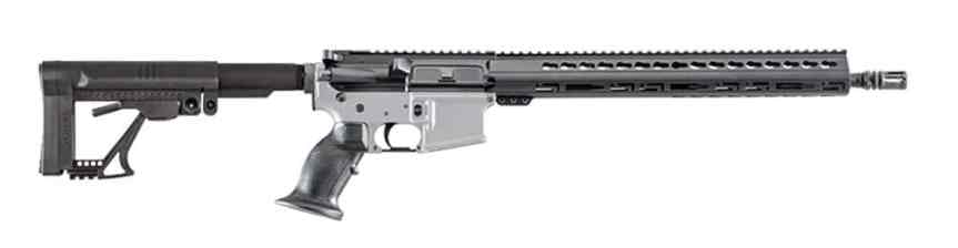 luth-ar mba-5 carbine buttstock ar15 precision stock for the ar-15 rifle black rifle 6