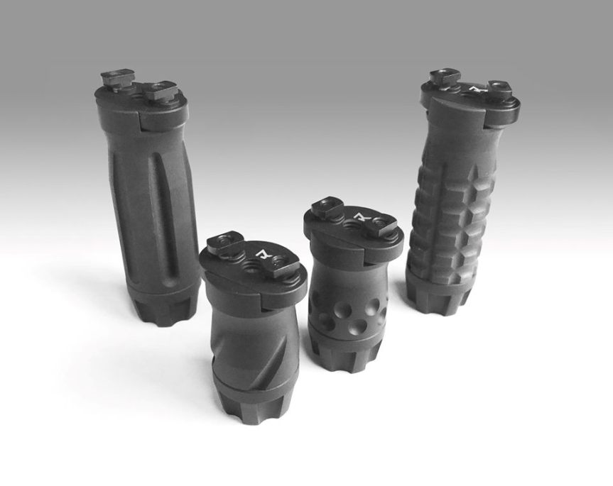 samosn manufacturing m-lok veritical grip ar15 billet vert grip  1.jpg