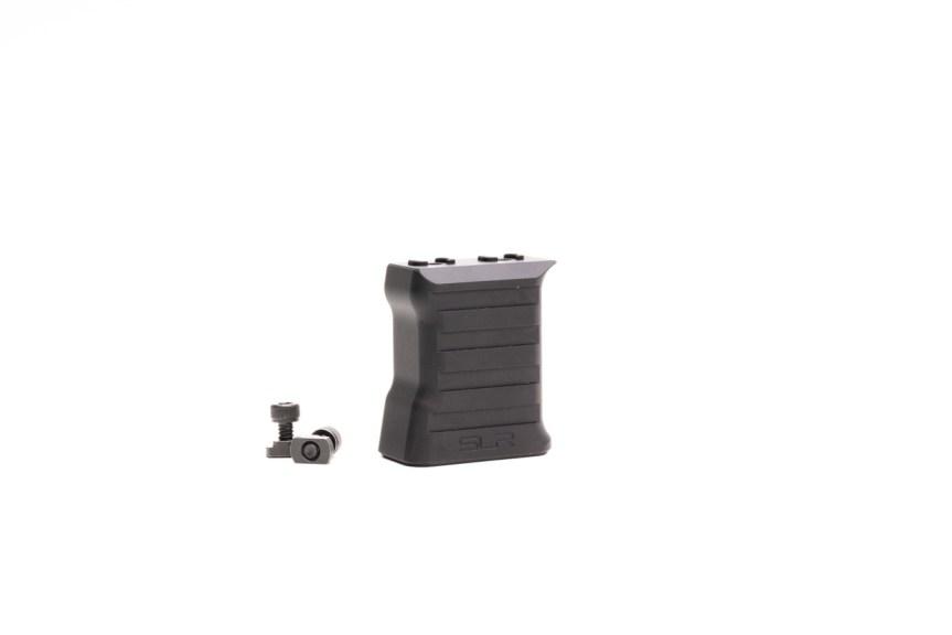 slr rifleworks billet aluminum vfg vertical foregrip baracade handstop Mlok vertical grip 3