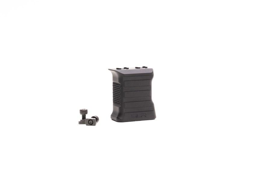 slr rifleworks billet aluminum vfg vertical foregrip baracade handstop Mlok vertical grip 4