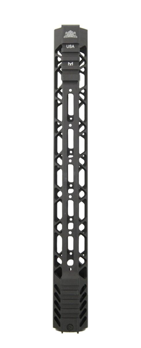 palmetto state armory PSA Custom Cross-cut Lightweigth 13.5 inch MLOK partial picatinny handguard AR15 forend 810029109437 4.jpg